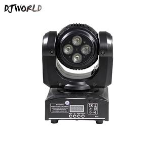 Image 3 - LED Mini Fascio Doppio Lati 4x10W + 1x10W Rotante In Movimento Testa 15/21 Canali DMX512 effetto di fase di Illuminazione di Buona Per Il Partito di Evento