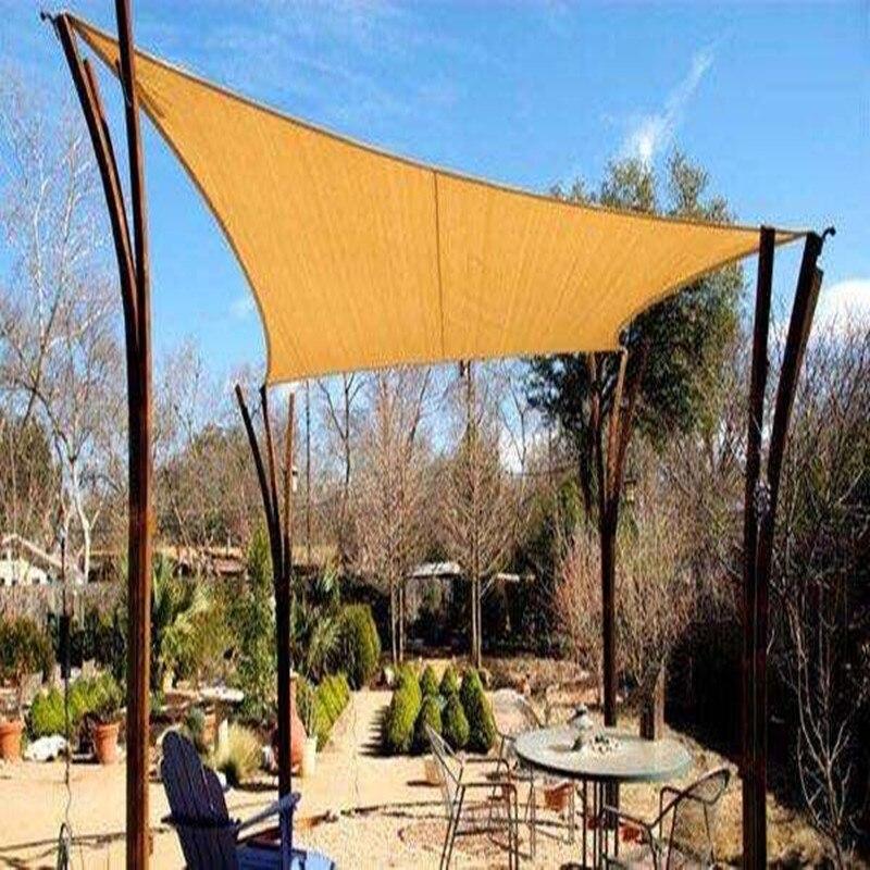 Filet d'ombre de combinaison d'ombre de soleil carré UV de haute qualité 1 pièces 3 m * 3 m