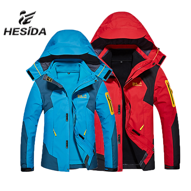 Men Jacket Hiking Clothing Heated Sport Hunting Clothes Winter Fleece Trekking Mammoth Outdoor Waterproof Fishing Coat Softshell high quality original renew cartridge chip detection board for epson r290 r270 r390 t60 me1100 t50 chip contact plate