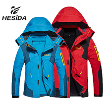 Men Jacket Hiking Clothing Heated Sport Hunting Clothes Winter Fleece Trekking Mammoth Outdoor Waterproof Fishing Coat Softshell