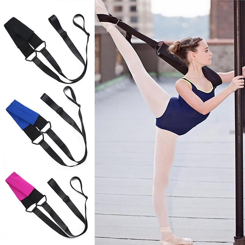 Ballet Soft Opening Band Dance Training Tension Belt Strap Women Girls Stretching Ballet Band Yoga Resistance Bands