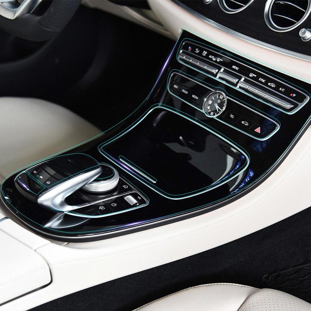 Car interior invisible protective film center console - Automotive interior protective film ...