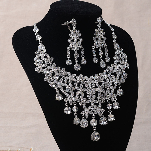 2016 Sale Necklace African Beads Jewelry Set Tl050 Bridal European And American Luxury Sets Chain Of Wedding Dress Accessories