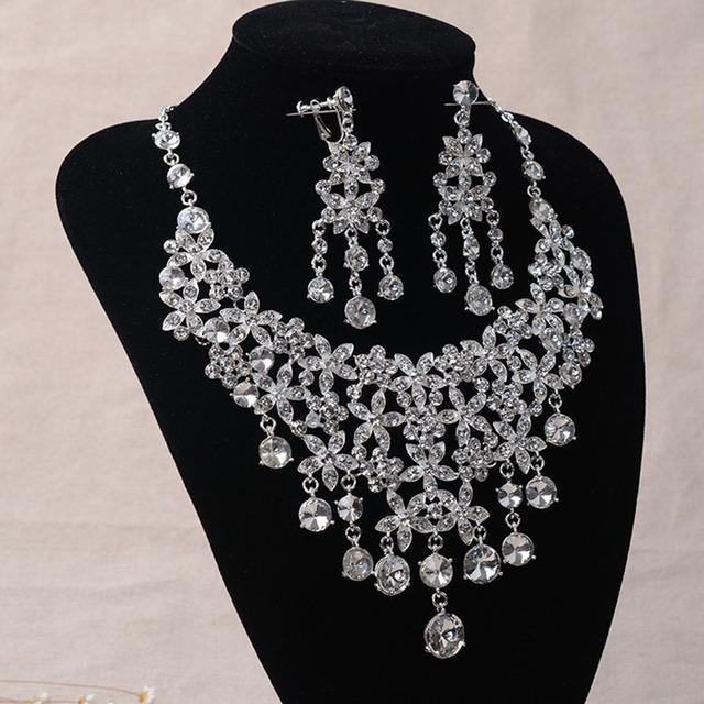 2016 Venta Collar de Perlas Africanas Joyería Conjunto Tl050 Nupcial Establece La Cadena De Accesorios Del Vestido de Boda de Lujo de Europa Y América