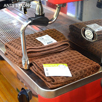 ANTS STRONG bar counter coffee machine cleaning cloth/barista coffee machine super absorbent fiber tea towel wipes