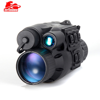 ZIYOUHU Night Vision HD 720P Infrared Scope IR LED Light Monocular Telescope 3x28Zoom Record Day and Night Use CCD Digital Scope