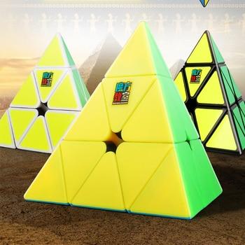 Micube Moyupyraminx Cube MF Pyramid Magic Cube Speed Puzzle Stickerless Professional Educational Toys For Children Cubo Magico 1