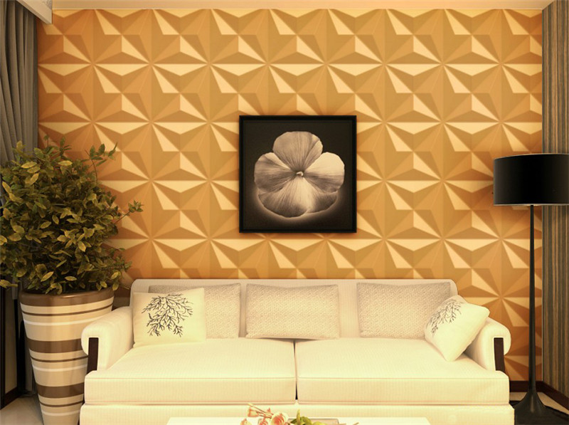 Outdoor wall decorative PVC 3D wall panels-in Wall Stickers from ...