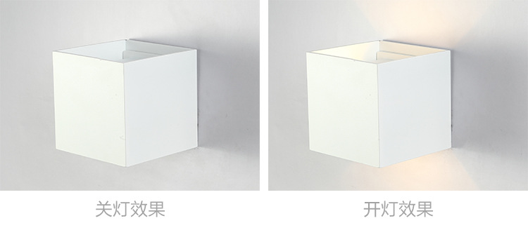 Lights & Lighting 2x Dhl Freely Modern Ip65 Waterproof Outdoor Led Wall Lamp Cube Adjustable Surface Mounted 12w Wall Light Aluminum Wall Sconce