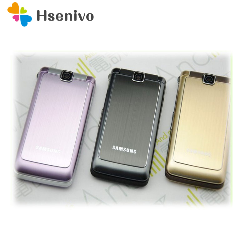 S3600 Original Unlocked Samsung S3600 1.3MP 2.8 Inch GSM 2G Support Russian Keyboard Flip Refurbished Cell Phone Free Shipping