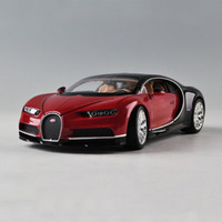 1:24 Hot sale Car Model Toys Bugatti Chiron Diecast Roadster Car Vehicle W Origin Box F Kids Husband Christmas Gifts Collections