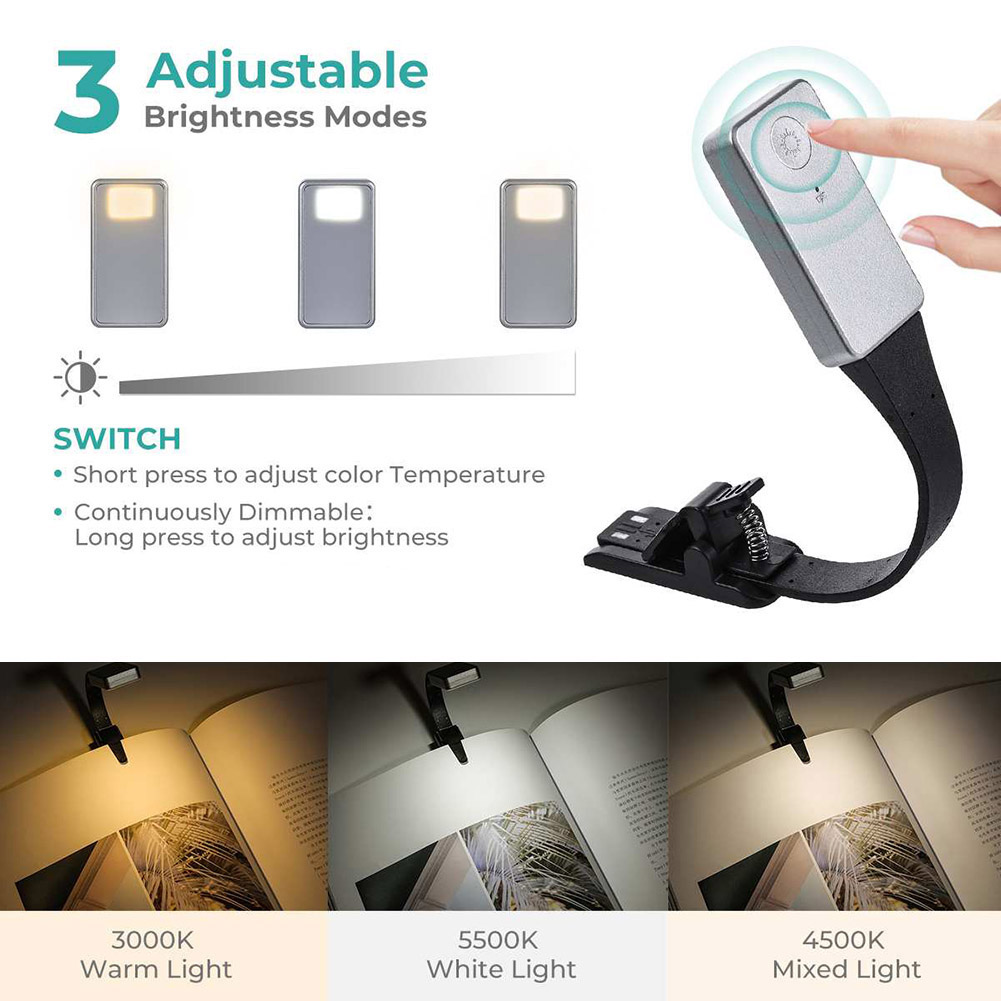 Clip-on Reading Light Lamp…