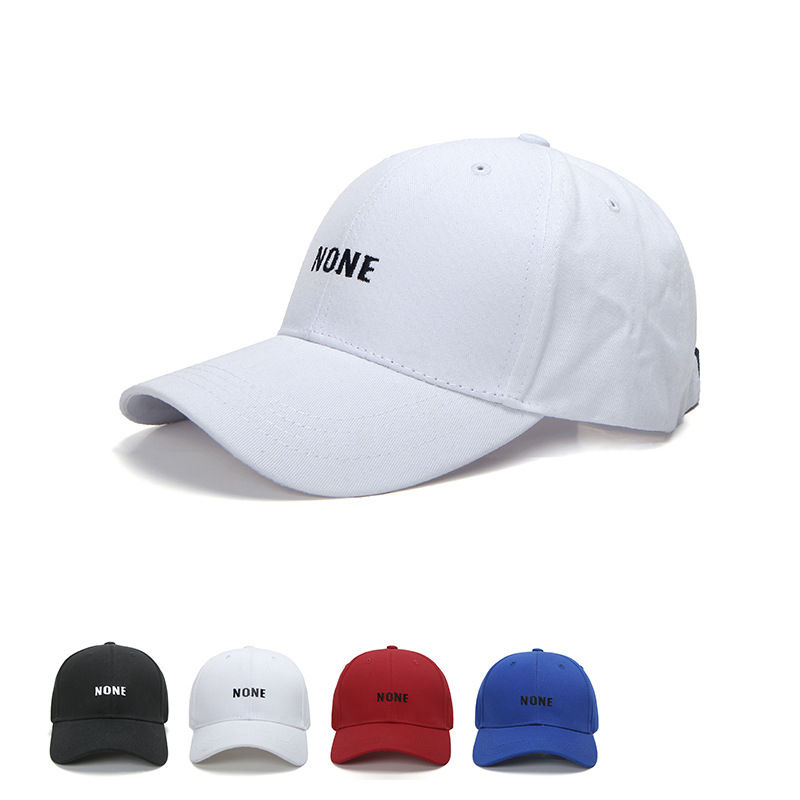new fashion font trendy men women black baseball cap hat sports caps