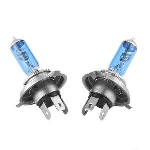 Image 3 - LED הנורה תאורה אופנועי 90W DC12V סופר לבן קוורץ זכוכית כחול פנס מנורת נורות ערפל אורות סטיילינג