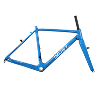 Elite 2 0 Carbon Cyclocross Frames Tapered Head Tube V Brake Bicycle Chinese Carbon Frames BB86