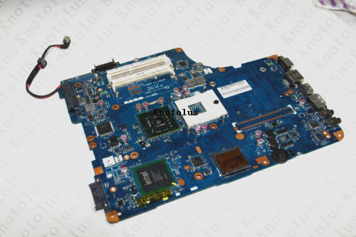 все цены на KSWAA LA-4982P for Toshiba L500 L555 K000092150 laptop motherboard DDR3 integrated Free Shipping 100% test ok онлайн