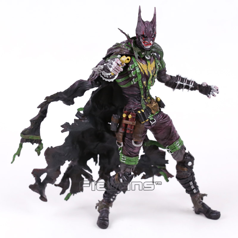 DC COMICS VARIANT PLAY ARTS KAI BATMAN Rogues Gallery The Joker PVC Action Figure Collectible Model Toy 26cm рюкзак dc comics batman