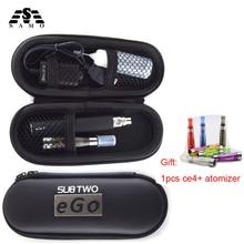 Sub Two Ego ce4 e-cigarettes kit 650-1100mah ego battery 1.6ml ce4 atomizer electronic hookah pen vaporizer smoke vape pen