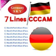 Stable Europe 1 Year 10 Lines CCCAM Server for DVB S2 V7S V8 V9 Satellite  TV Receiver for Portugal Italy Spain supply free test