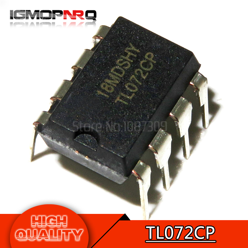 10pcs free shipping TL072CN TL072 TL072C TL072CP DIP-8 Operational Amplifiers - Op Amps Dual Low Noise JFET new original10pcs free shipping TL072CN TL072 TL072C TL072CP DIP-8 Operational Amplifiers - Op Amps Dual Low Noise JFET new original