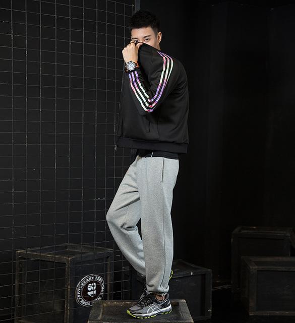 Gratis shipping. Brand 100% algodón pantalones largos. trousers. quality hombre moda invierno de los hombres calientes