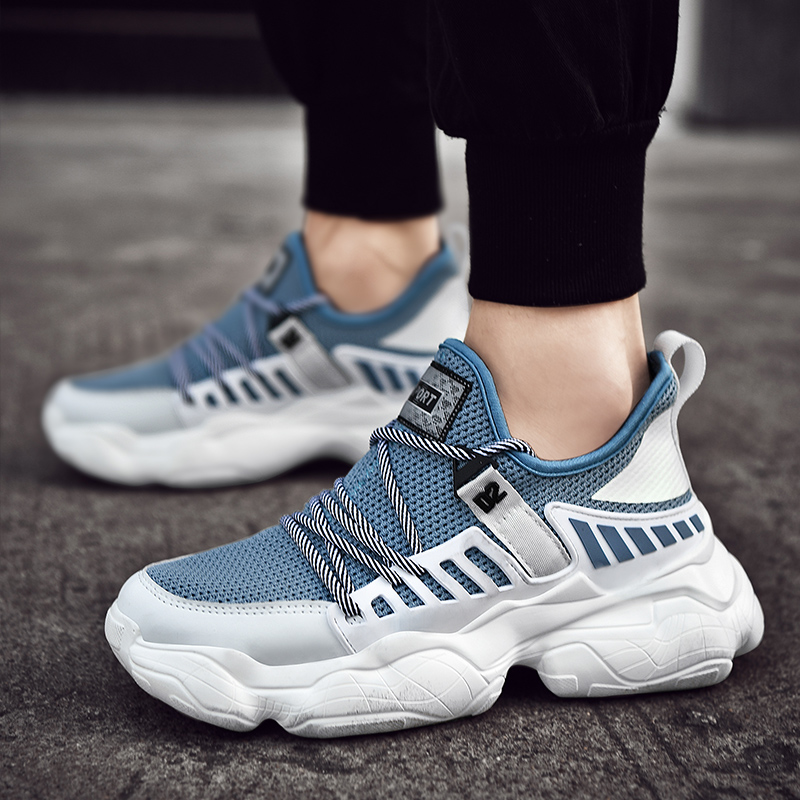 Popular Summer Sport Shoes For Men Large Size 46 47 Male Running Shoes Comfortable Gym Outdoor
