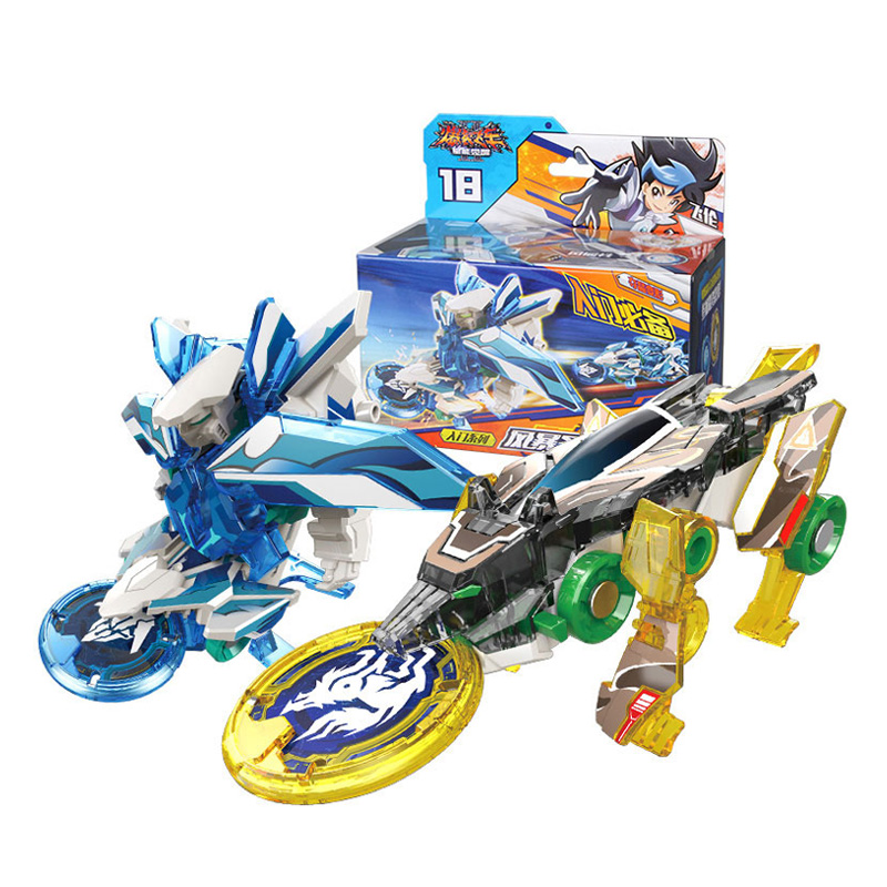 AULDEY Beginner Burst Speed Deformation Car Action Figures DPTI MORPHS Capture Wafer 360 Degree Burst Transformation Car Toys