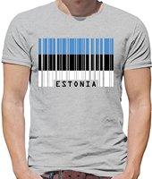 Мужская футболка, топы, короткий рукав, хлопок, фитнес-футболки, европейский стиль штрих-кода, флаг, Мужская футболка с круглым вырезом