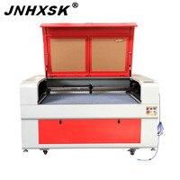 JNHXSK TS1390 100W 110V/220V F4 Ruida 6442s laser engraving cutting machine with honeycomb working table desktop CO2 CNC