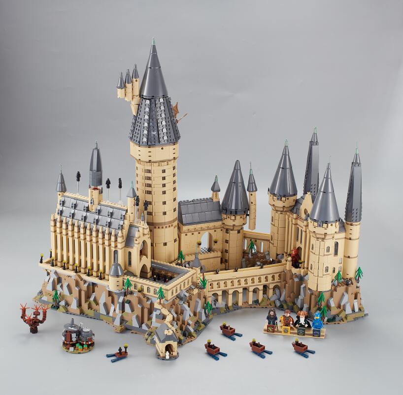 Lepin 16060 6742pcs Harry Magic Potter Hogwarts Castle School Compatible Legoing 71043 Kit Building Blocks Bricks Toy Model