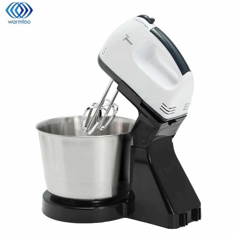 Electric Hand Mixer ~ Electric hand mixer bucket table kitchen egg whisk eu plug