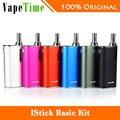 100% original eleaf istick kit básico 2300 mah batería y gs-aire 2 atomizador 2 ml vs sólo eleaf istick mod batería básica e-cigarrillos