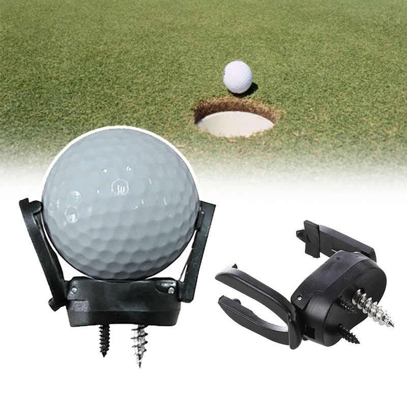 新 2 プロンググラバーゴルフトレーニングパター用オープンピッチとレトリーバーアクセサリーツールゴルフボールレトリーバー
