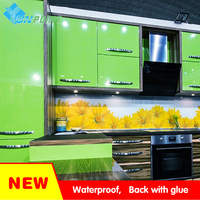 60cmX10m Kitchen Solid Color DIY Decorative Film Furniture Renovation Wall Sticker PVC Home Decor Vinyl Self