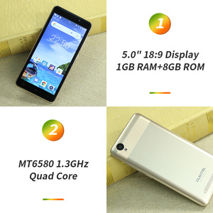 Image 3 - OUKITEL C10 5 18:9 Display 3G Smartphone 1GB RAM 8GB ROM MTK6580 Quad Core 1.3GHz Dual SIM 2000mAh Android 8.1 Mobile Phone