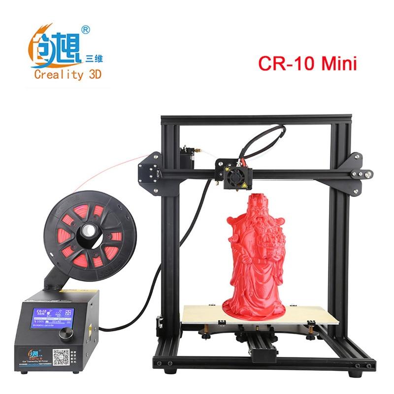 Créalité 3D CR-10 Mini bricolage 3D Imprimante Grand Prusa I3 kit de bricolage Imprimer Taille 300*220*300 MM Auto reprendre Imprimer après Pouvoir Interrompre