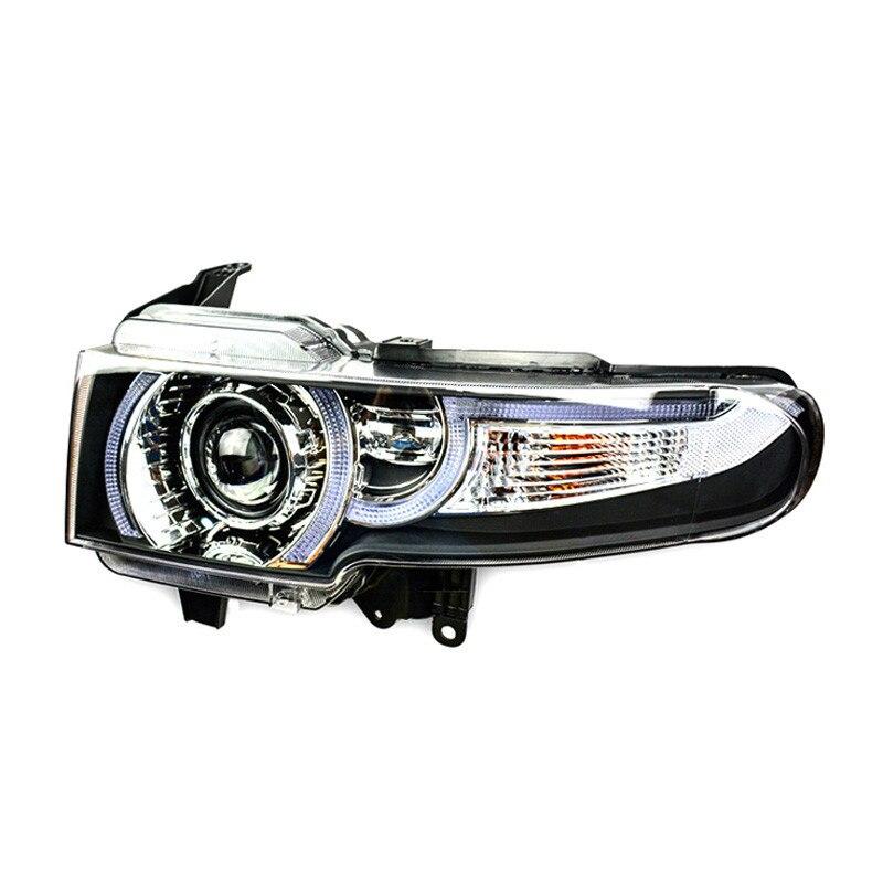 Ownsun 2шт светодиодные ДХО спрятанный би-ксенон проектор Лен ж/повернуть Сигна lOriginal замены фар для Тойота FJ Крузер 2007-2013