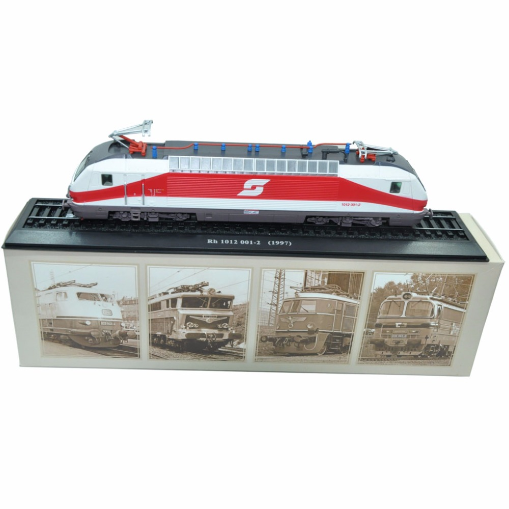 1:87 LIMITED Train Model COLLECTIONS ATLAS EDITIONS Rh 1012 001-2 (1997) светильник ruges блиц набор 3шт d 19