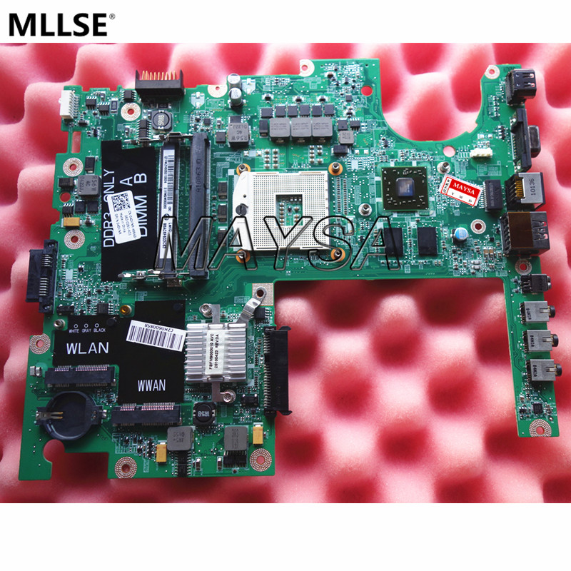 4DKNR CN-04DKNR DAFM9CMB8C0 Main board Fit FOR DELL studio 1558 Laptop motherboard DDR3 with graphics card chips cn 0vx53t 0vx53t vx53t main board for dell inspiron n5010 laptop motherboard 48 4hh01 011 hm57 ati hd 5470 ddr3