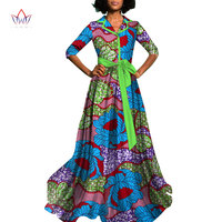 2018 summer african dress for women plus size Dashiki african long dresses for women in african print clothing 4xl other WY822