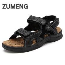 2017 новые летние сандалии повседневная дышащий высокое качество geninue кожа мода мужская обувь на плоской подошве обувь для ходьбы гладиатор обувь