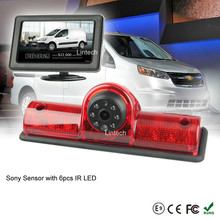 4.3 Inch Monitor Sony CCD Universal Van Stop Light Reversing Camera