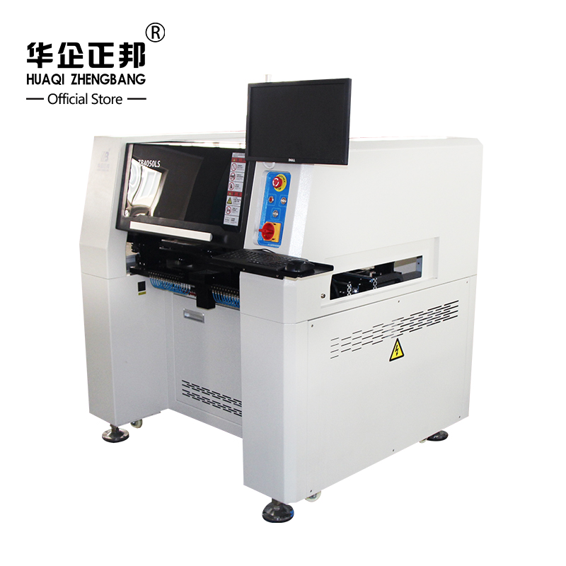 PCB Pick Place Machine SMD Mounting Machine SMT Production Assembly Line with 64pcs Feeder Location And 6 Placement Heads