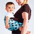 Hot MOM moda multifuncionales infantiles porta bebé bolsa cómodas abrigo de la honda del bebé canguro 0-3 años de algodón orgánico transpirable