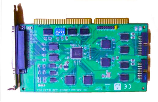 High quality Board PCL-836 6CH REV.A2 100% tested perfect quality yu and crabs xuan 2 6 3 0