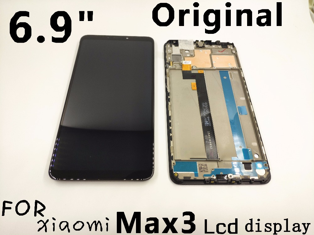 Original For 6 9 Xiaomi Max 3 Mi Max 3 display Max3 LCD screen Display Touch