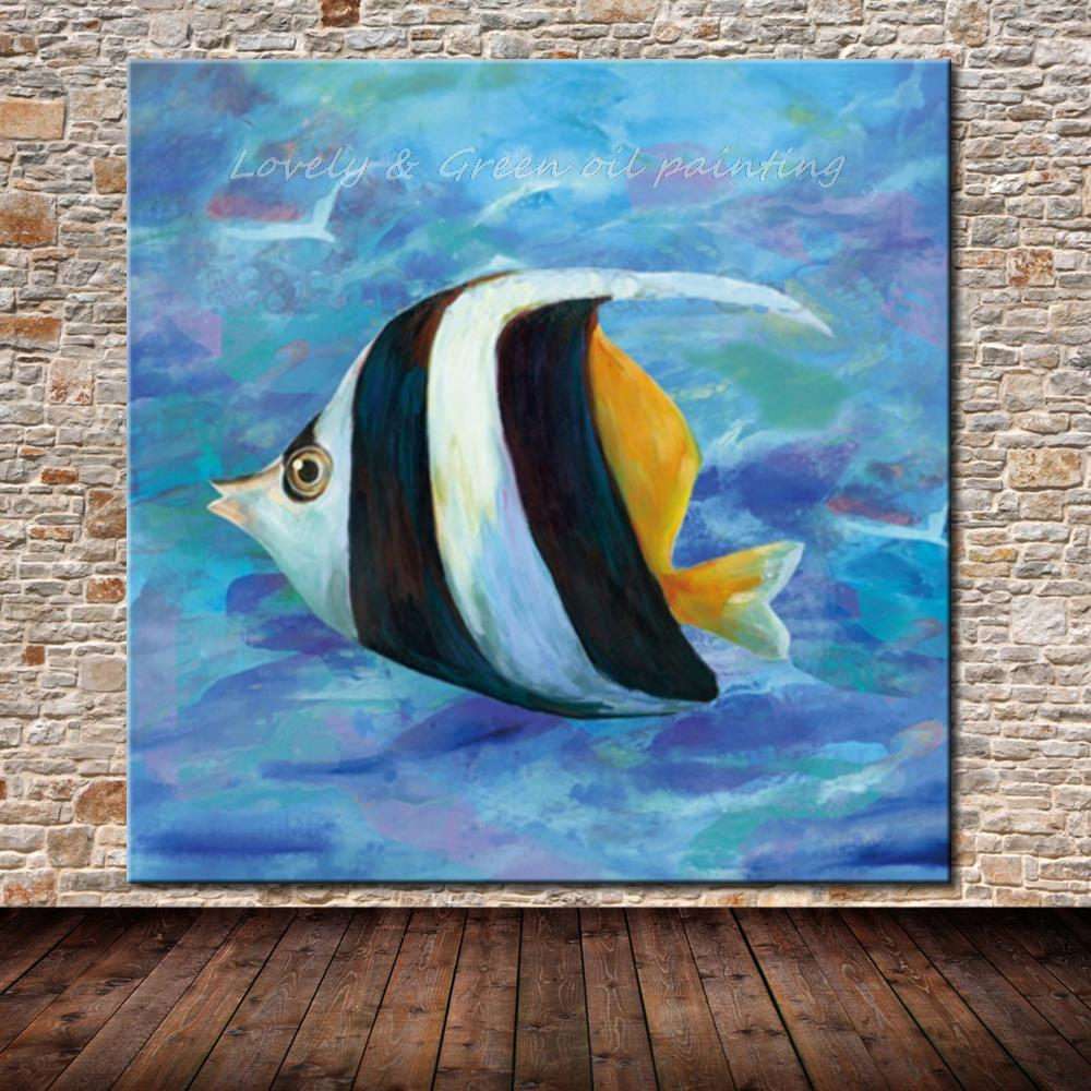 100 Hand Painted Modern Decorative Art Picture Hand Made Abstract