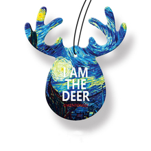 I AM A DEER Car pendant air freshener rear view interior mirror perfume Fresh and persistent