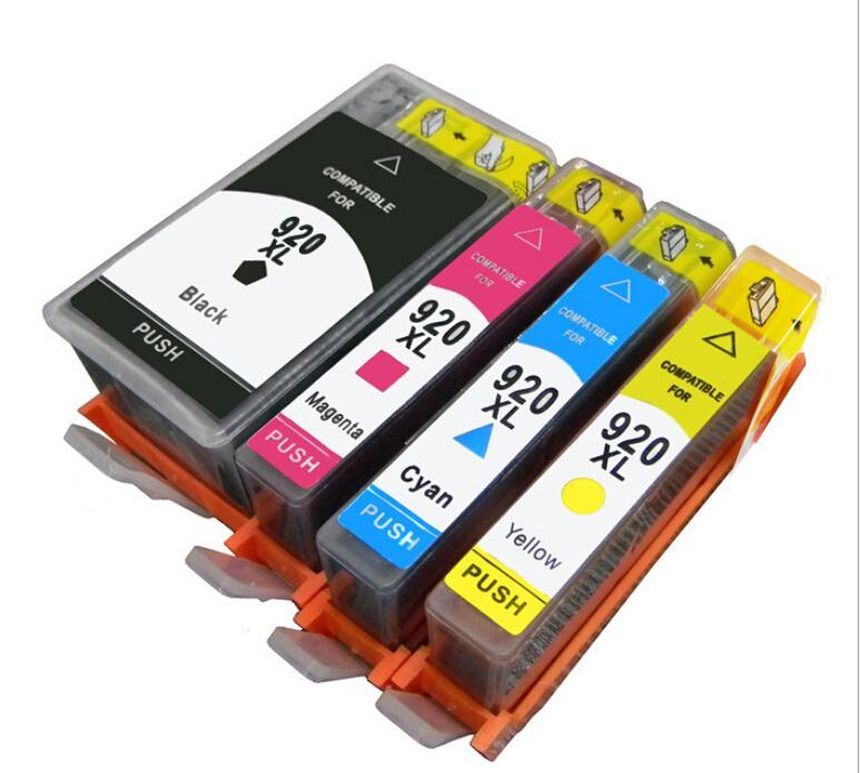 2 Set Full Ink 920 Xl Cartridge For Hp Officejet 6000 6500 6500a Inkjet Printer In Cartridges From Computer Office On Aliexpress