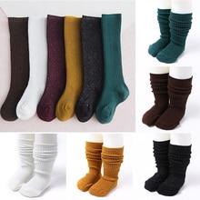 Glitter Baby Socks For Newborn Cotton Baby Girl Socks Calcetines Toddler Infant Knee